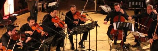 Mario Crispi/Arenaria & GliArchiEnsemble (quartet+string orchestra)