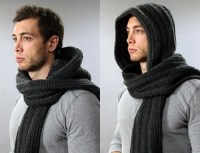 The Santos Hooded Scarf For Men Gifts