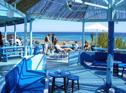 Blue Bar Formentera locale notturno discoteca