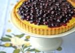 Blueberry Lemon Curd Tart