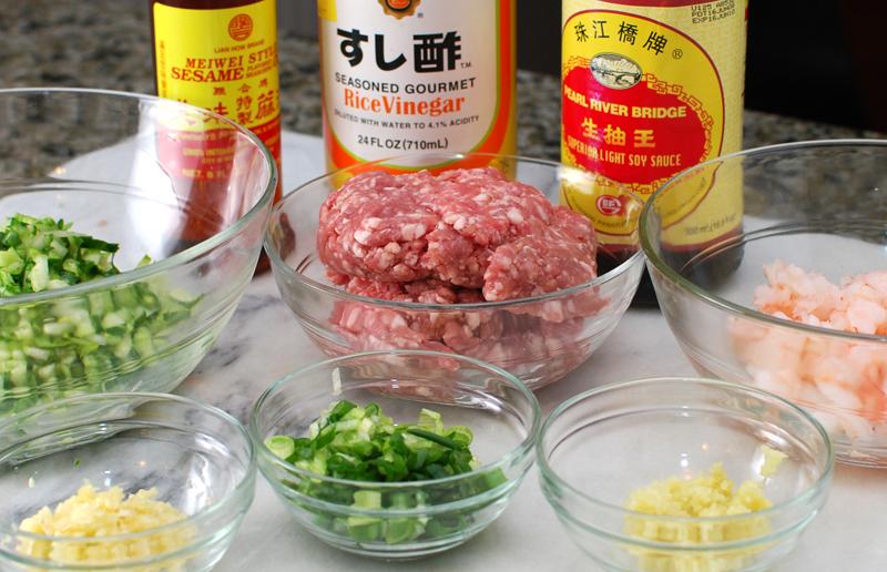 Gyoza Ingredients