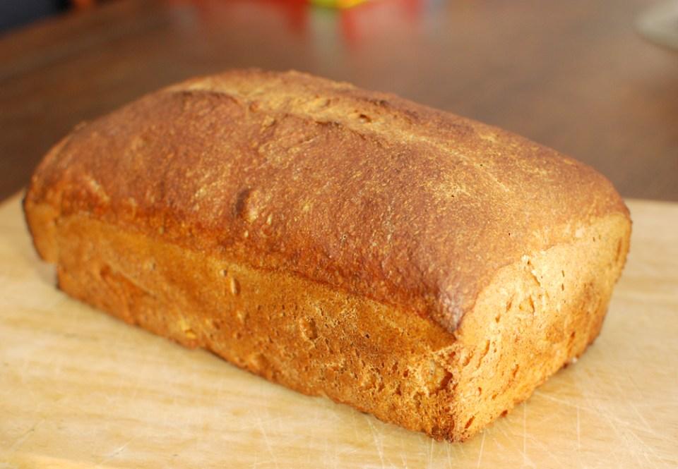 Healthy Bread-Loaf of wheat bread