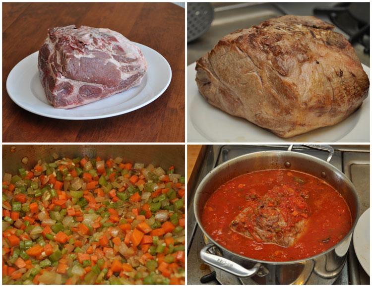 Pork Ragu Steps