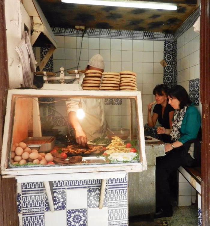 Fez Morocco medina shop