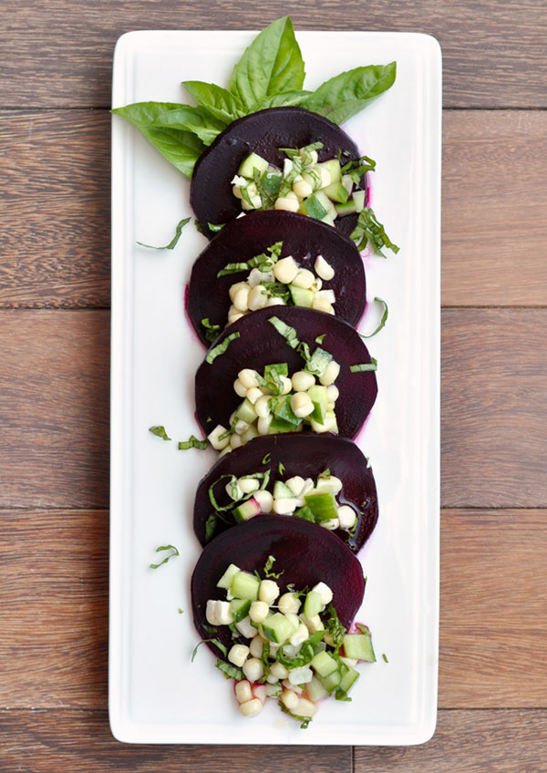 Beet Corn Cucumber Salad