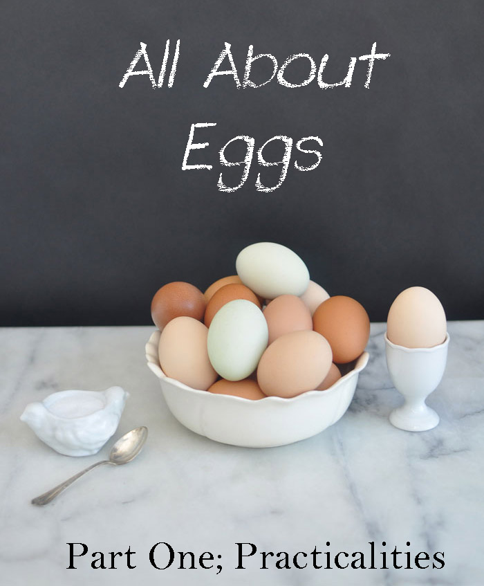 Eggs of all colors in a bowl