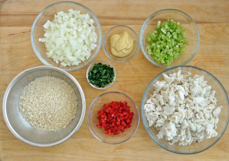 Crab Cake Ingredients