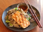 Grilled Tofu with Cold Soba Noodles