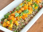 Roasted Butternut Squash and Quinoa Salad with Pepitas and Lemon Cumin Vinaigrette