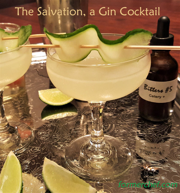 The Salvation, a Gin Cocktail