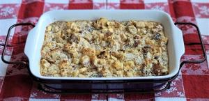 Baked Panettone Bread Pudding