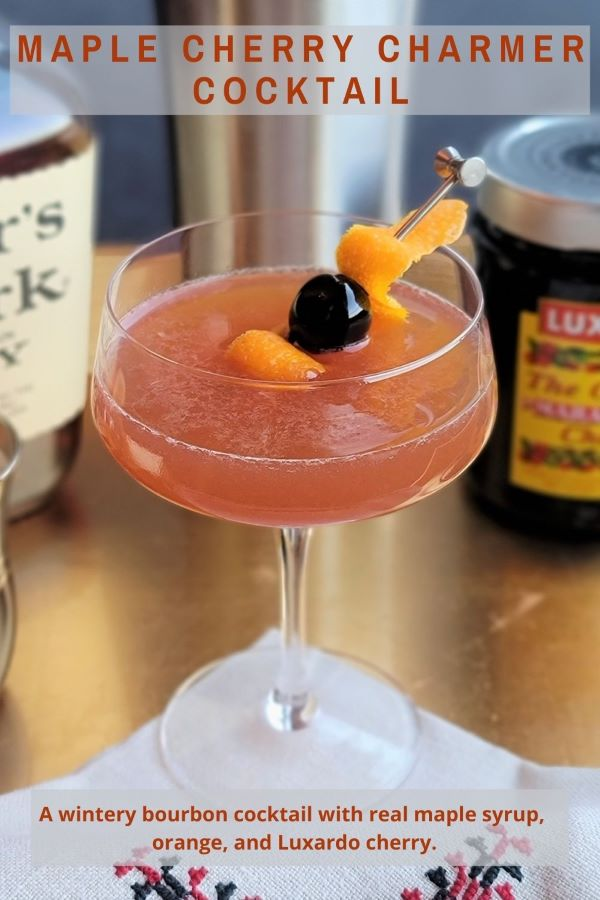 Maple Cherry Charmer Cocktail