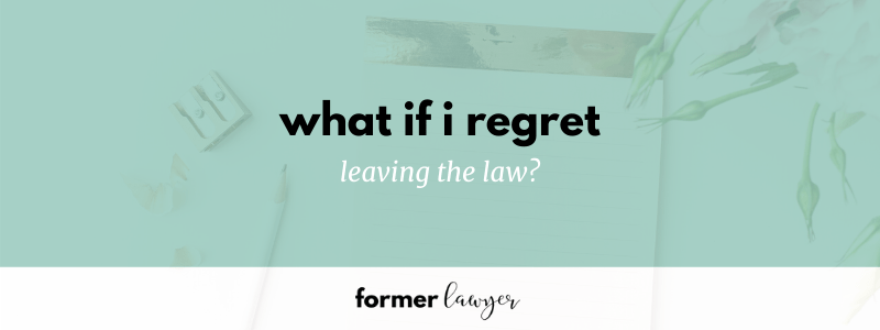 What if I regret leaving the law? with Lauren Bernadett (TFLP 048)