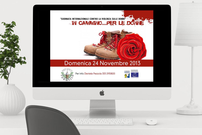 invito a partecipare alla giornata contro la violenza sulle donne