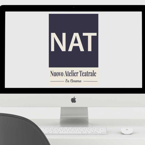 Logo per il NAT Nuovo atelier teatrale a formello