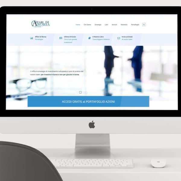 Sito web Affari di Borsa realizzato e sviluppato da formeweb