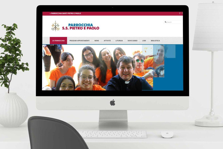 Sito web per la parrocchia Santissimi Pietro e Paolo dell'Olgiata, La Storta Roma