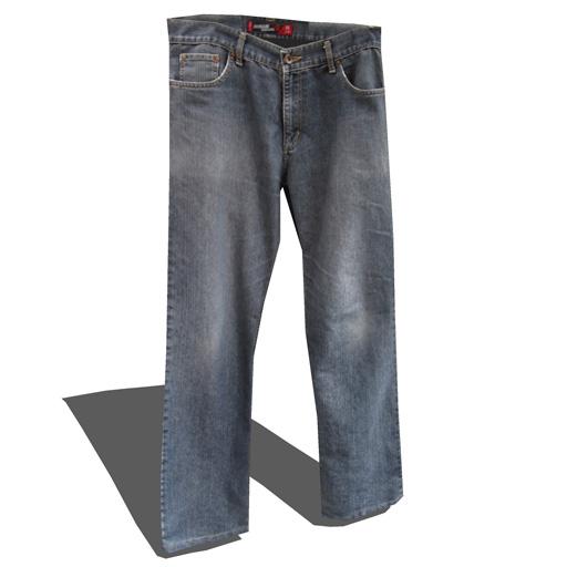 Mens Jeans set 1 3D Model  FormFonts 3D Models  Textures