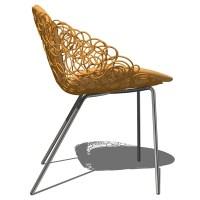 Noodle Armchair 3D Model - FormFonts 3D Models & Textures