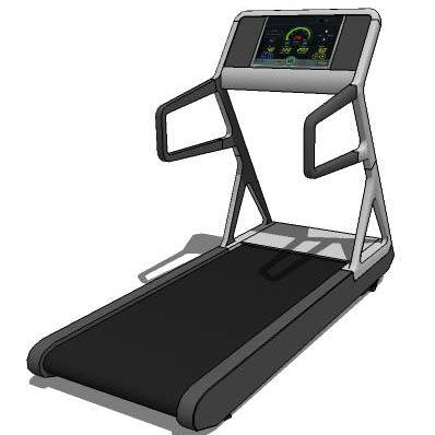 treadmill 3D Model  FormFonts 3D Models  Textures
