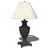 Traditional Table Lamps 3D Model
