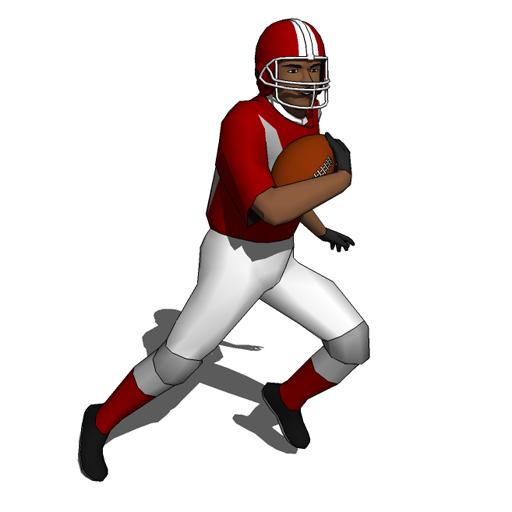 Football Players 10 3D Model FormFonts 3D Models Textures