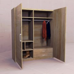 Kitchen Cabinet Desk Units Knobs Discount Dynamic Wardrobes Set 10 3d Model - Formfonts Models ...
