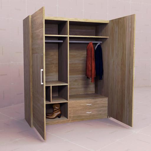 city furniture living room set made in usa dynamic wardrobes 10 3d model - formfonts models ...