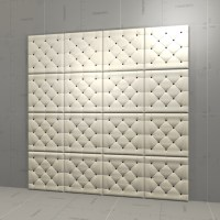 Leather Wall Panel 3D Model - FormFonts 3D Models & Textures