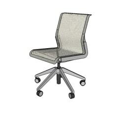 Allsteel Task Chair Rattan Outdoor Chairs Uk Clarity 3d Model Formfonts Models Textures