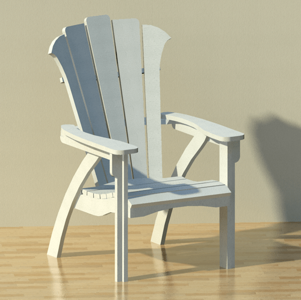 modern style adirondack chairs under 50 patio chair 3d model formfonts models textures