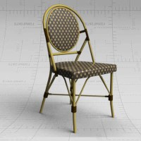 AHF Cafe Chair 3D Model - FormFonts 3D Models & Textures
