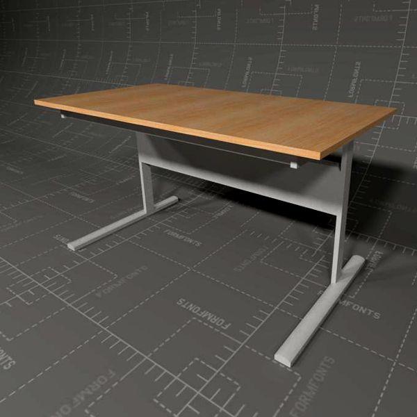 IKEA Fredrik Desk 3D Model  FormFonts 3D Models  Textures