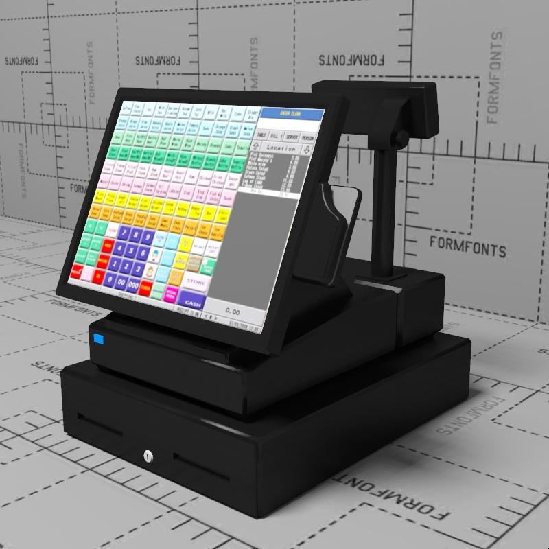 Cash Register Desk