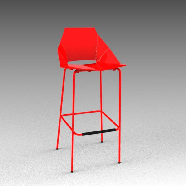 real good chair plastic outdoor folding lounge chairs 3d model formfonts models textures