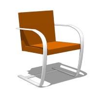 brno chair 3D Model - FormFonts 3D Models & Textures
