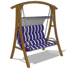 Swing Chair Revit Family Baby Doll High Target Porch 01 3d Model Formfonts Models Textures Seat Size Approx 120cm