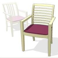 Oriana Chair 3D Model - FormFonts 3D Models & Textures