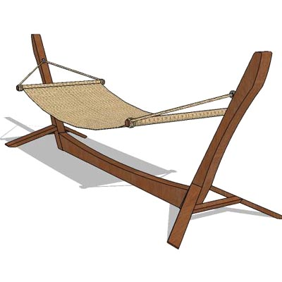 swing chair revit family chairs board game hammock 04 3d model formfonts models textures