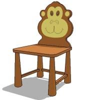 kiddie chair 3D Model