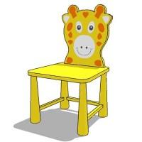 kiddie chair 3D Model - FormFonts 3D Models & Textures