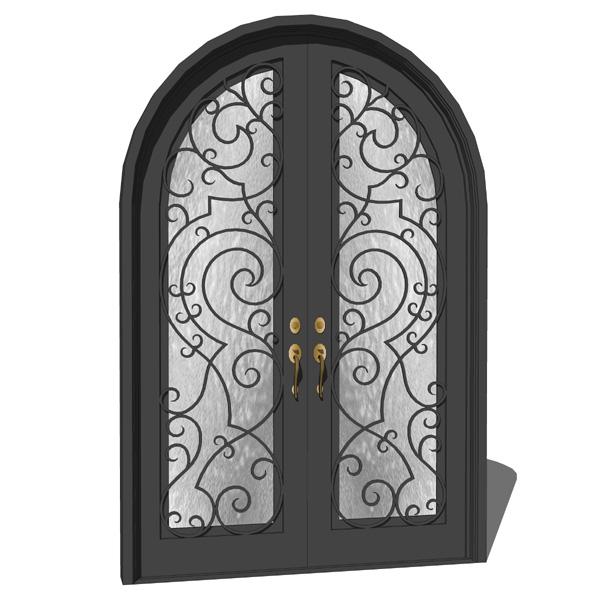 Iron Exterior Door 03 3D Model FormFonts 3D Models Amp Textures