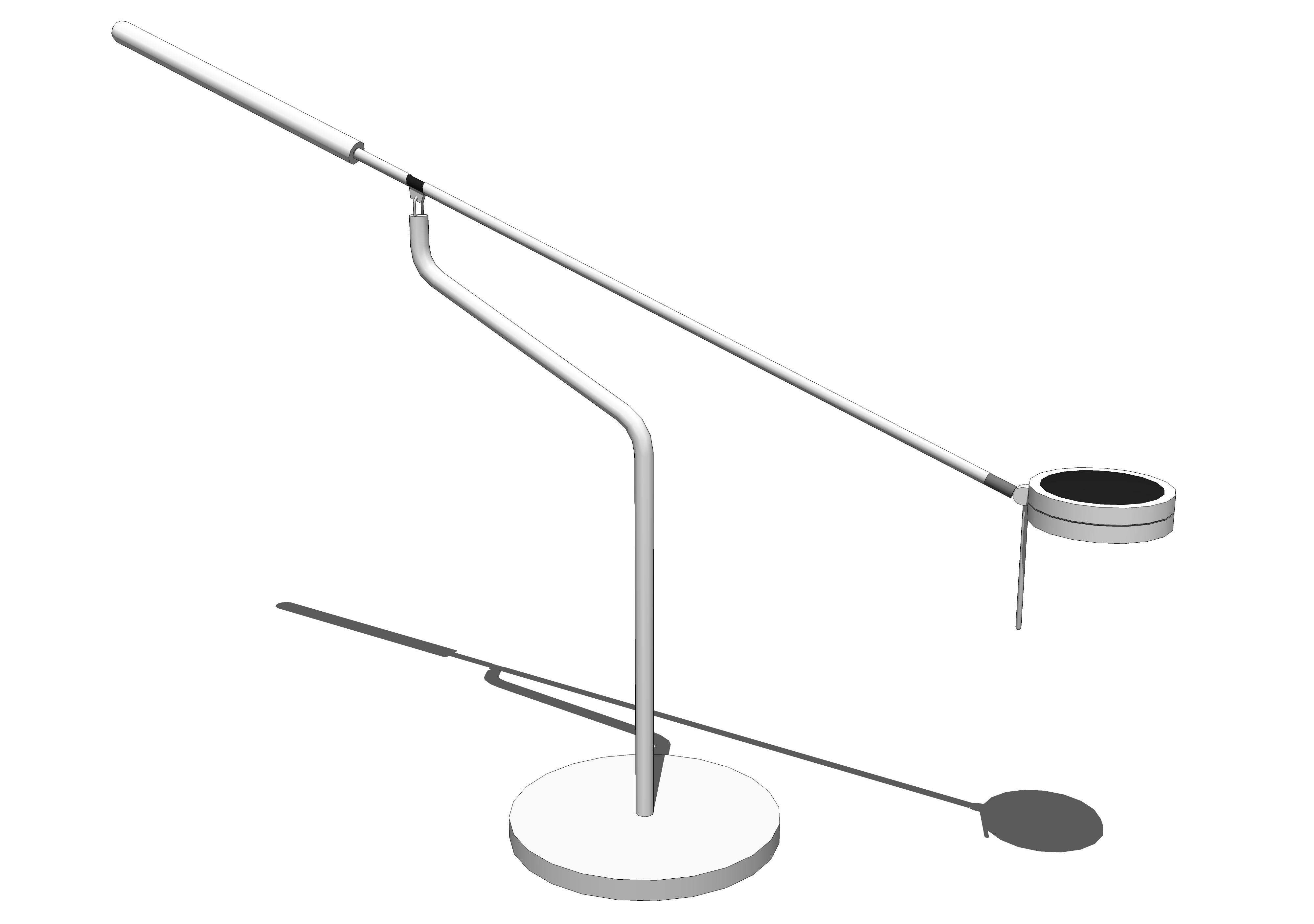 Three Sixty Desk Lamp 3d Model