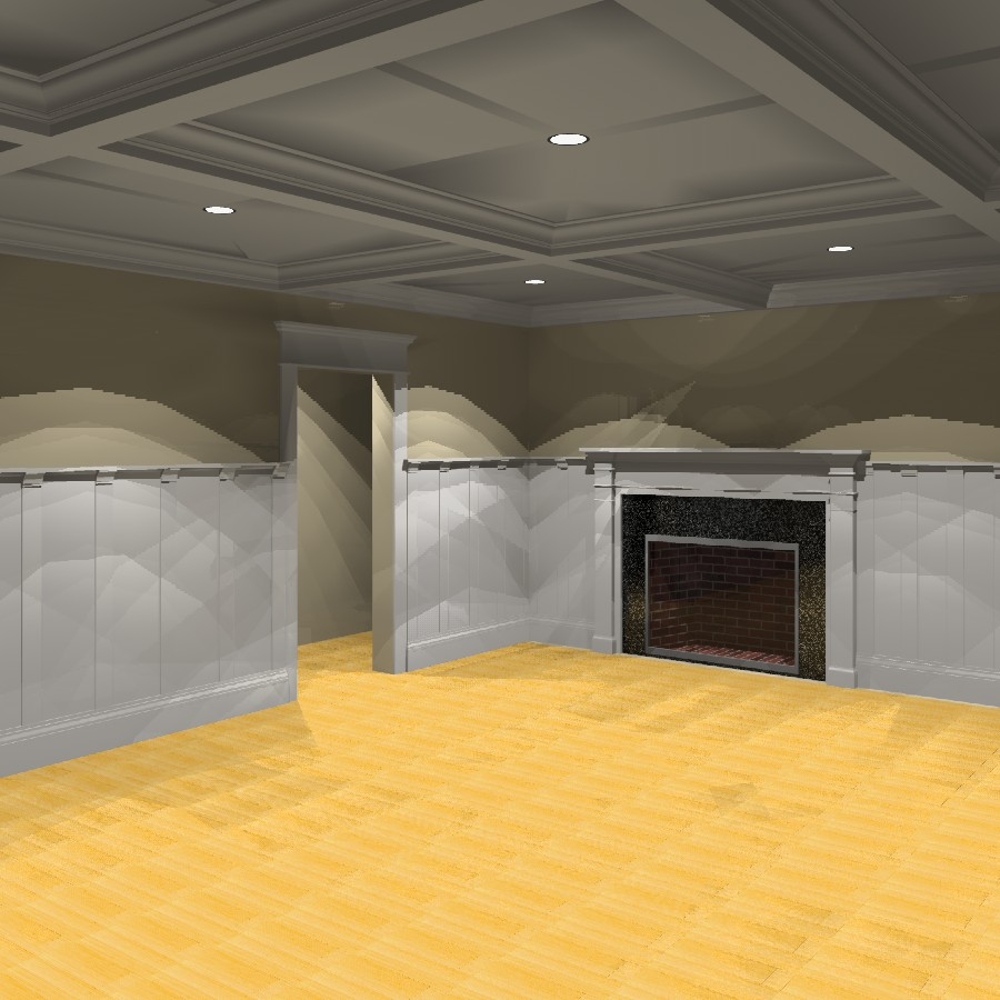 Interior Trim 3D Model  FormFonts 3D Models  Textures