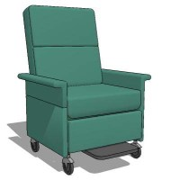 chemotherapy chair 3D Model - FormFonts 3D Models & Textures