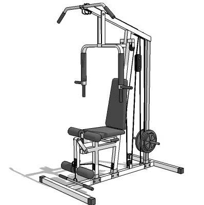 Gym Equipment: Gym Equipment Revit