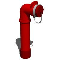 Fire Standpipe Set 3D Model - FormFonts 3D Models & Textures