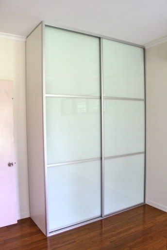 Multi Panel Glass Bedroom Doors