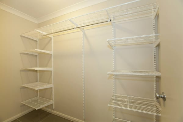 Abode New Homes elfa shelving