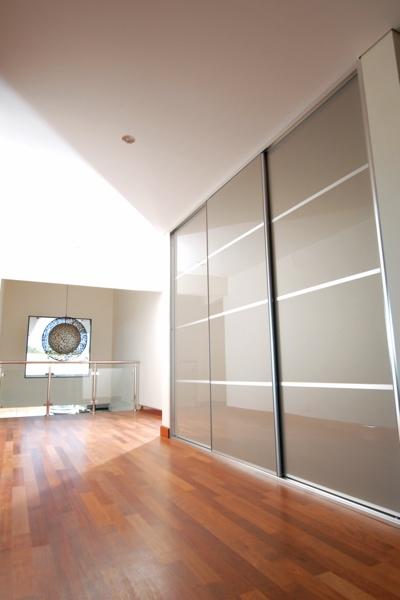 Hallway Multi Panel Stylite Sliding Cupboard